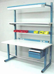 BenchPro Dewey Series workbench with options (ESD or Formica (TM))