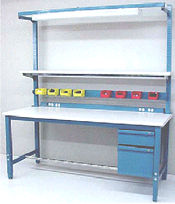BenchPro Kennedy Series workbench with options (ESD or Formica (TM))